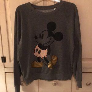 Grey Mickey Mouse sweatshirt